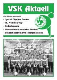 VSK-Aktuell Quartal 2/2013 - VSK Osterholz