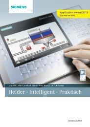 HMI Comfort Panel Flyer - Industry - Siemens Nederland