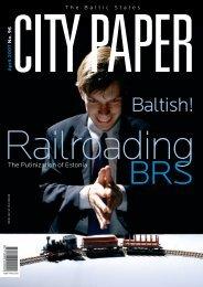 the Putinization of Estonia: Russian money and influence - Railroad ...