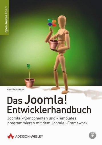 Das Joomla! Entwicklerhandbuch  - *ISBN 978 ...