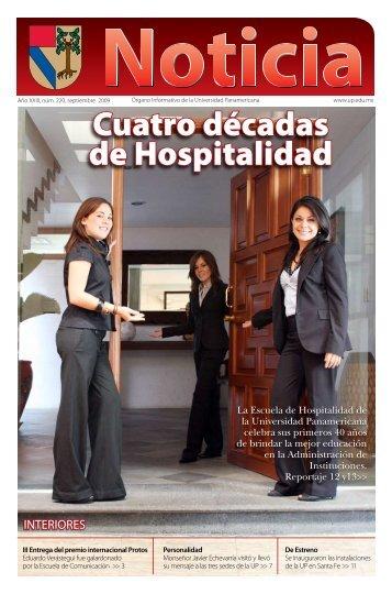 Cuatro décadas de Hospitalidad - Universidad Panamericana