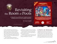 Revisiting the Roomof Pools - Wizards of the Coast