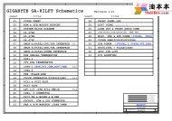 GIGABYTE GA-8ILFT Schematics - Tehnari.ru