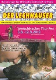 der Lechhauser - Nummer 146 - Ausgabe ... - Lechhausen - T-Online