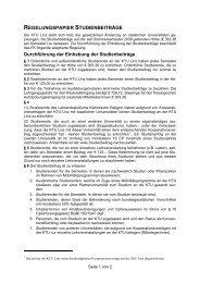 Regelungspapier - Katholisch-Theologische Privatuniversität Linz