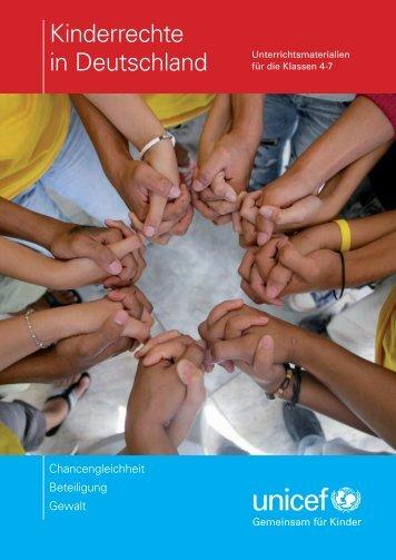 """Unterrichtsmaterial """"Kinderrechte in Deutschland"""" (Kl ... - younicef.de"""