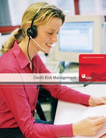 Credit Risk Management - CGI