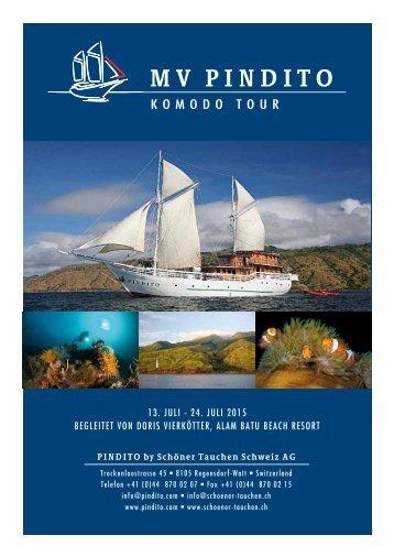 PDF Datei Pindito - Komodo Tour mit Doris Vierkötter - Schöner ...