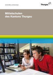 Übersicht Mittelschulen Thurgau - Schule Weinfelden