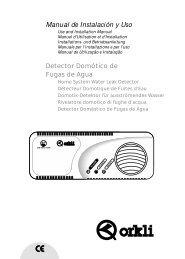Manual de Instalación y Uso - Orkli