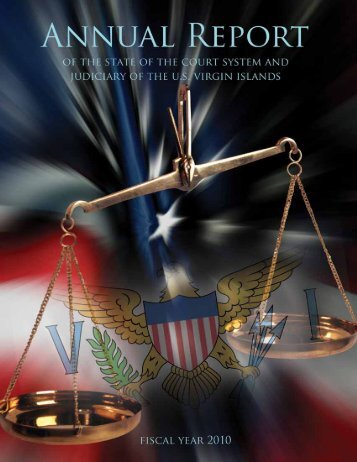 2010 Annual Report - Supreme Court of the Virgin Islands