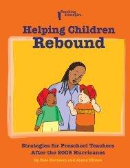 Helping Children Rebound - Teaching Strategies Online