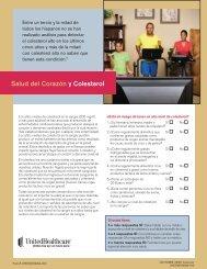 Salud del Corazón y Colesterol - UHC Tools