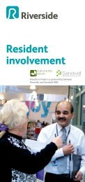 Resident involvement - Riverside