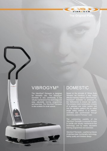 VIBroGym® DomesTIc