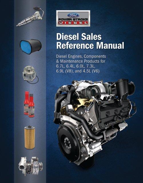 Diesel Sales Reference Manual Power Stroke Diesel