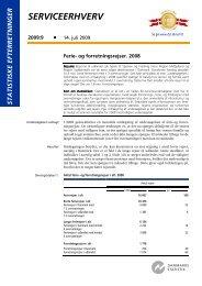 Statistiske Efterretninger, 2009:9 - Danmarks Statistik