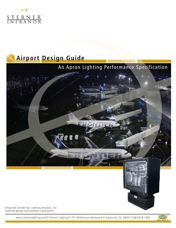 Airport Design Guide - Sterner Lighting