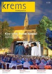 Kino unter freiem Himmel - Krems an der Donau