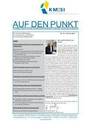 PDF - Nr. 75 Februar 2013 - Kompetenzregion Mittelstand Siegen ...
