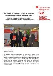 Deutscher Bürgerpreis - Kreissparkasse Bitburg-Prüm