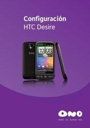 Configuración HTC Desire - Ono