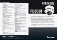 Fixed Dome Network Camera