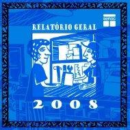 Relatório Geral 2008 - Senac
