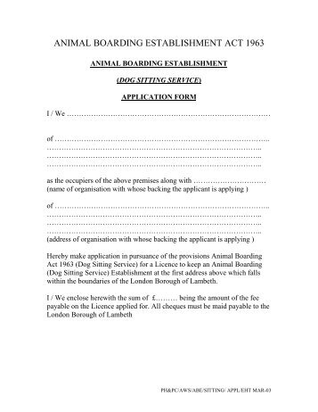 Recipient Application Form - Hearing Dogs
