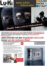 Immer auf der sicheren Seite! - lu-ki.de