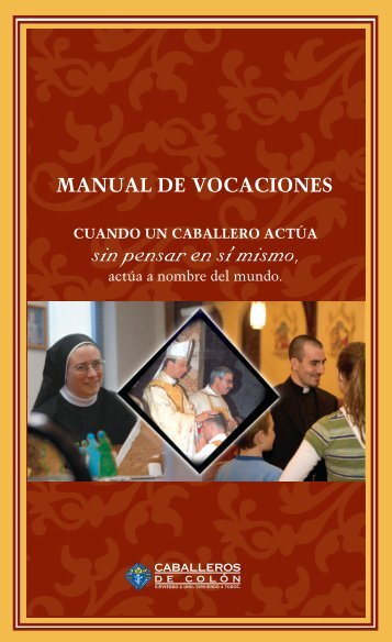 El Manual de Vocaciones - Knights of Columbus, Supreme Council