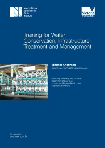 Training for Water Conservation, Infrastructure, Treatment and ...