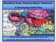 Woodford Shale, Ardmore Basin, Oklahoma - Oklahoma Geological ...