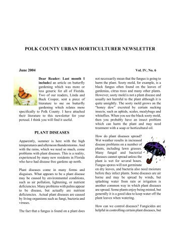 June - Polk County Extension Office