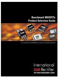 Benchmark MOSFETs Product Selection Guide - Newark