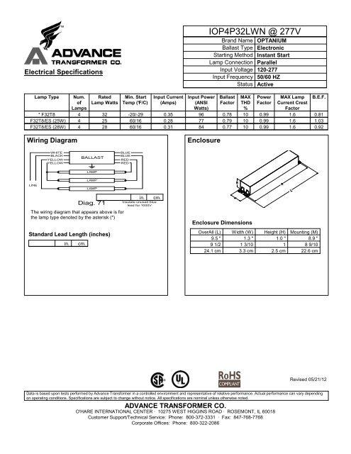 277v wiring diagram iop4p32lwn   277v philips lighting  iop4p32lwn   277v philips lighting