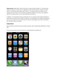 Email setup on Iphone - Computer Services