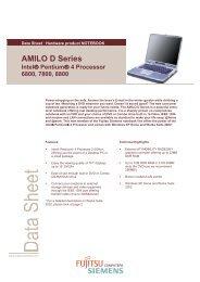 AMILO D Series Intel