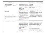 (Standards f. praktische Ausbildungsabschnitte) 1.