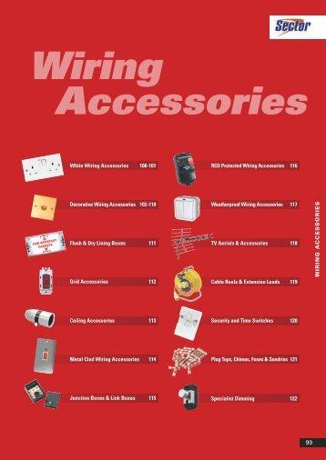 Wiring Accessories - WF Senate