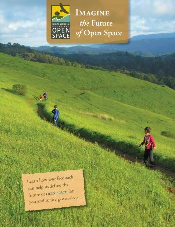 Vision Plan brochure - Midpeninsula Regional Open Space District