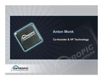 to View Anton Monk's Presentation