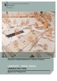 Jurybericht - Stadtgärtnerei - Kanton Basel-Stadt