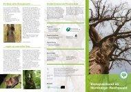 Biotopverbund im Nürnberger Reichswald - Bayerische Staatsforsten