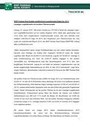 Download PDF - BNP PARIBAS Real Estate Deutschland