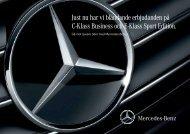 Ladda ner erbjudandet på E -Klass Sport Edition ... - Mercedes-Benz