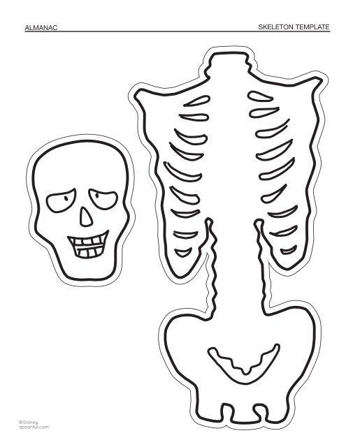 Skeleton Template | Almanac Skeleton Template Spoonful