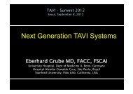 Next Generation TAVI Systems - summitMD.com