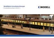 Produktübersicht 2010/2011 - EYRO Modellbahn GmbH