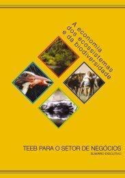 TEEB – A Economia dos Ecossistemas e da Biodiversidade - ABCE